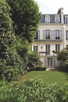 Paris Hôtel Particulier avec jardin | Architecture | Pinterest ...