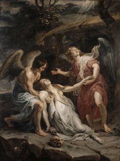Sainte Marie-Madeleine en extase par Rubens