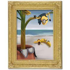 Salvador Dali inspired Minion Art Movie Poster #35 design by LA