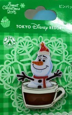 New Tokyo Disney Resort Christmas pins!