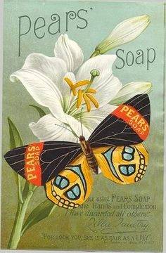 Pears' Soap, endorsed by Edwardian actress Lillie Langtry