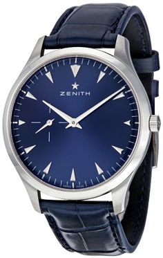 Zenith 03.2012.681/51.C503 Heritage Ultra Thin Blue Dial Men's Watch