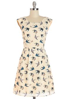 Swoop In and See Me Dress, #ModCloth