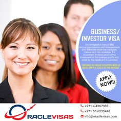 The immigration laws of UAE encourage investors and entrepreneurs and therefore under this category, various visas are available. It is incumbent to have proof of the investment of the business pra…