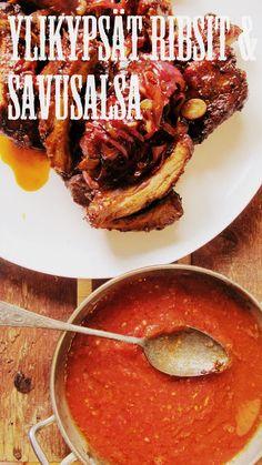 Onko nälkä?: Tortilla Barbacoa, eli tortillat revityistä ribseistä ja savusalsa