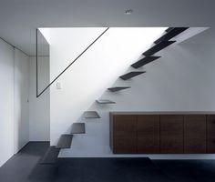 Minimal staircase railing