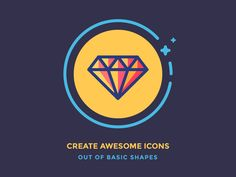 Hey guys!   I've just posted article on how to create icons out of basic shapes on the Icon Utopia. Hopefully these few tips will help you to look at the icons from a different angle.   Check it ou...