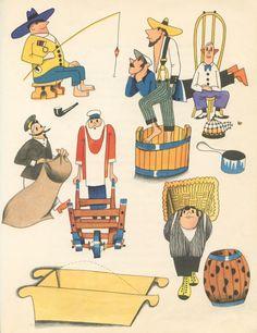 The Ideas of Mr. April  1961- Vladimír Fuka