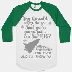 Christmas Sweater. Christmas Vacation Shirt. by SheSquatsClothing