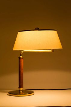Rare Alfred Mueller Quick 1500 Desk Lamp Brass for AMBA image 2