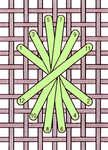 Chive stitch - click to enlarge