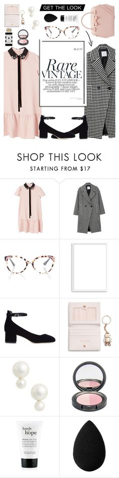 """Early Spring 2018 Preview..."" by glamorous09 ❤ liked on Polyvore featuring MANGO, Prada, Bomedo, Sandro, Ted Baker, Kate Spade, philosophy, beautyblender, Jo Malone and spring2018"