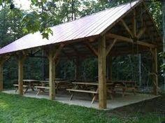 Pergola Ideas For Small Backyards Outdoor Sheds, Rustic Outdoor, Outdoor Spaces, Outdoor Gardens, Rustic Pergola, Outdoor Pavillion, Backyard Pavilion, Backyard Landscaping, Outside Living
