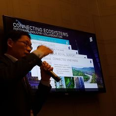 Connected industries #iot #Ericsson by techtradeasia