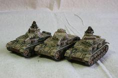 DAK Pz IVs for Flames of War