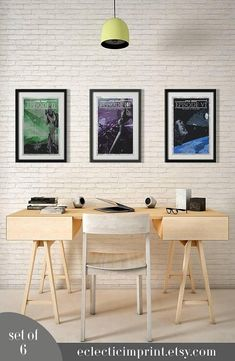 Star Wars movie posters Set of 6 posters Instant download