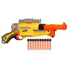 Nerf Guns - infatuated with guns already...
