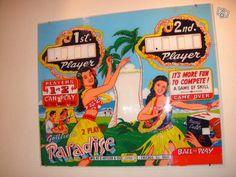 Glace de flipper vintage des années 60/70 Décoration Orne - leboncoin.fr