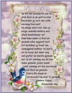 Good Morning Good Night, Good Morning Wishes, Day Wishes, Good Morning Quotes, Lekker Dag, Evening Greetings, Afrikaanse Quotes, Goeie More, Special Quotes