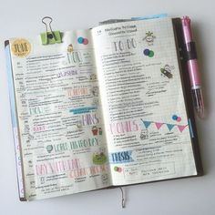 """Last week was my first week using my #midoritravelersnotebook as a planner and I am pretty sure I am in love with everything about it!!!! I did miss using…"""