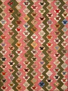 Little Basket quilt by Edyta Sitar