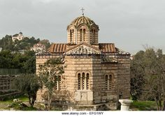 byzantine church of the holy apostles athens