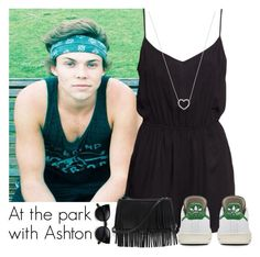 """""""At the park with Ashton"""" by direction-of-the-summer ❤ liked on Polyvore featuring H&M, Tiffany & Co. and White House Black Market"""