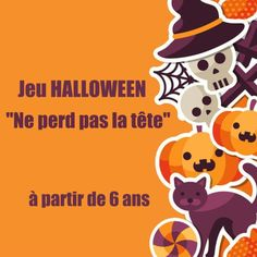Un jeu sur le thème de Halloween pour les groupes d'enfants à partir de 6 ans
