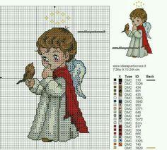 Santa Cross Stitch, Cross Stitch Angels, Cross Stitch Tree, Beaded Cross Stitch, Crochet Cross, Cross Stitch Baby, Cross Stitch Charts, Cross Stitch Designs, Cross Stitch Embroidery
