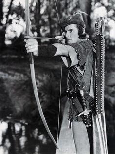 Robin Hood with Errol Flynn and Olivia DeHavilland.