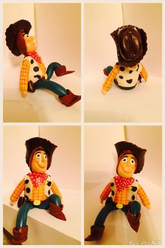 Woody /toy story/ cold porcelain