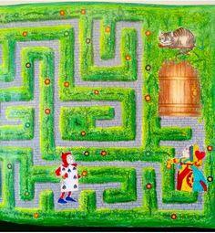 Detalhes Labirinto Jardim Secreto - Alice no país das maravilhas pintado por mim @jessicasantin