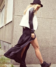 Maxi Skirt + High Tops