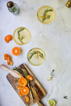 Rosemary Clementine Prosecco
