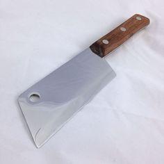 KA-BAR CLEAVER KNIFE Hatchet Camp Fish Kitchen Chef Chopper Wood Stainless Steel #KaBar