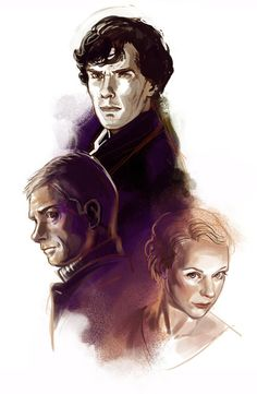 Sneak peak of a Sherlock piece, by risachantag (april 2014)