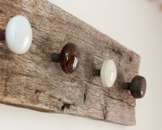 Turn Old Vintage Doorknobs into hooks for coats in an entryway or ...