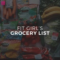 If you've ever wondered what super fit girls have on their healthy grocery lists, you're not alone! Here are 50 staple foods all fit girls NEED.