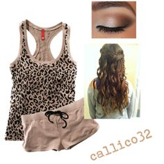 Cheetah outfit by callico32 on Polyvore