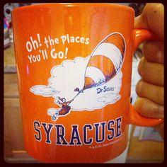Photo by jaenarae Syracuse University, Alma Mater, Orange Crush, School Spirit, College Life, Fun Things, Random Things, Great Gifts, Mugs
