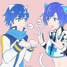 kaito vocaloid so cute😍 Vocaloid Kaito, Kaito Shion, Otaku, Cosplay Costumes, Halloween Costumes, Mikuo, Iroha, 3 Arts, Memes