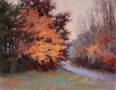 Color Amid the Haze, pastel, 11x14 Barbara Jaenicke
