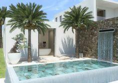 Lush waterfall / Inspiring Home & Pool ideas byCOCOON.com