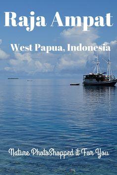 What lies above the sea is just as stunning as what lies below in Raja Ampat. #travel #wonderfulindonesia