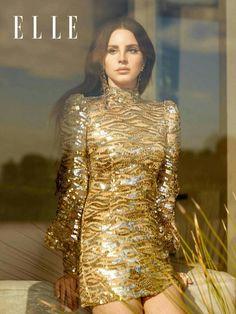 Lana Del Rey for ELLE UK.