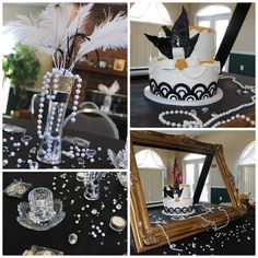 Image result for roaring 20s party decorations