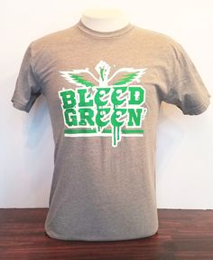 bdd75082935a9 Show your Philly pride with this original design Bleed Green t-shirt