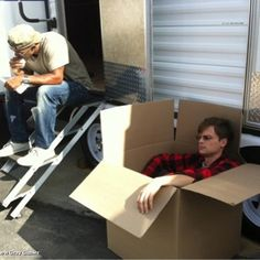 Shamar Moore eating a burrito and Matthew Gray Gubler in a Box Matthew Gray Gubler, Crime, Tv Series, Crime Comics, Fracture Mechanics