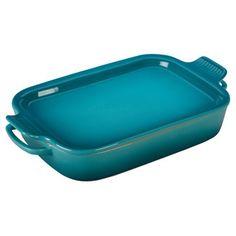 Le Creuset Rectangular Dish with Platter Lid - avail several colors | Wayfair & Saks