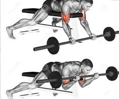 Biceps and Triceps Workout Beast Mode Bar Workout, Gym Workout Tips, At Home Workouts, Big Biceps Workout, Forearm Workout, Body Training, Weight Training Workouts, Barbell Curl, Chest Workouts